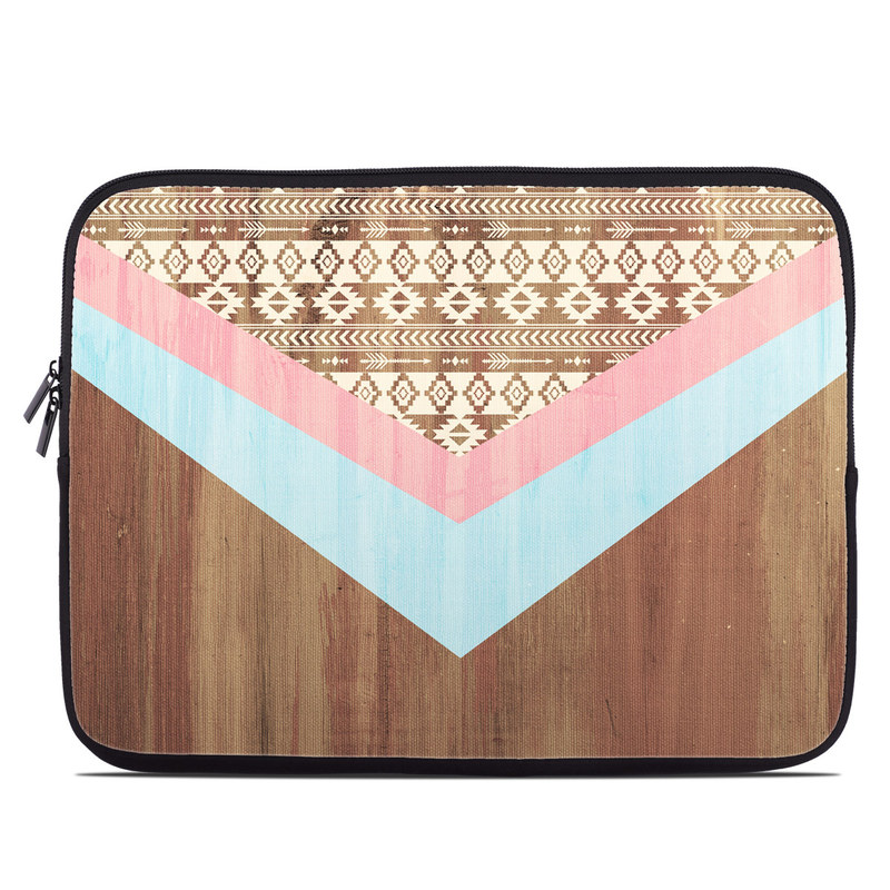 Laptop Sleeve design of Pink, Orange, Pattern, Turquoise, Triangle, Line, Peach, Design, Beige, Textile with green, red, gray, purple, pink colors