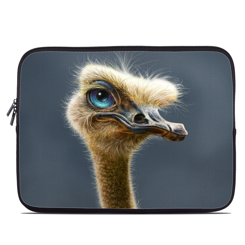 Ostrich Totem Laptop Sleeve