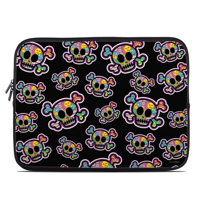 Peace Skulls Laptop Sleeve