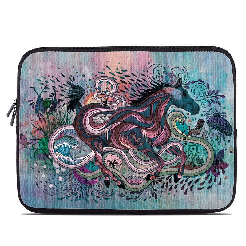 Poetry in Motion Laptop Sleeve