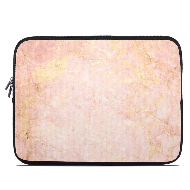 Rose Gold Marble Laptop Sleeve