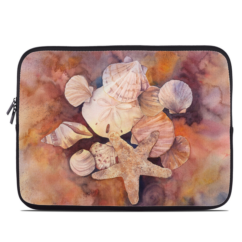 Laptop Sleeve design of Watercolor paint, Painting, Art, Sky, Visual arts, Still life, Illustration, Paint, Flower, Acrylic paint with brown, orange, white, yellow colors