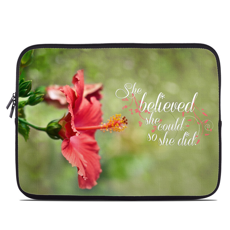 She Believed Laptop Sleeve