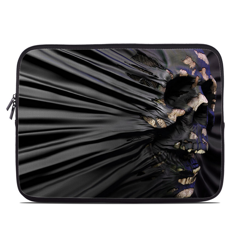 Laptop Sleeve design of Purple, Dress, Tree, Plant, Photography, Flower, Macro photography, Art with black, gray colors