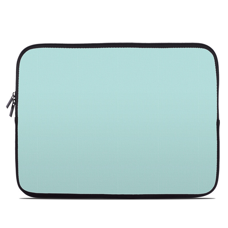 Laptop Sleeve design of Green, Blue, Aqua, Turquoise, Teal, Azure, Text, Daytime, Yellow, Sky with blue colors