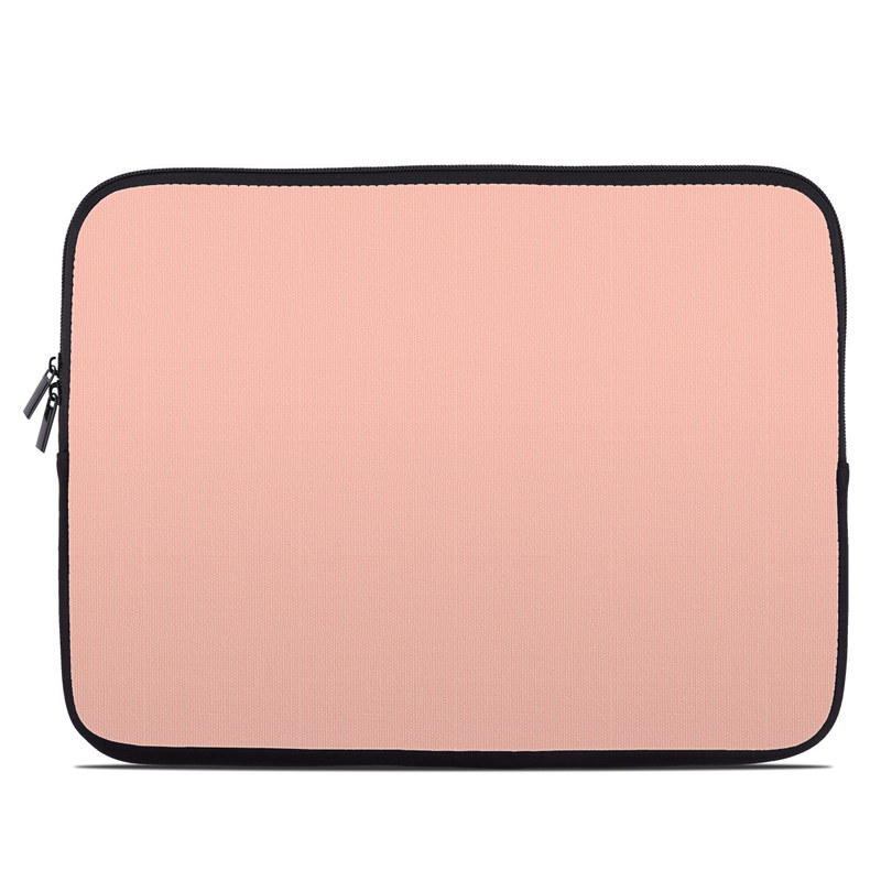 Solid State Peach Laptop Sleeve