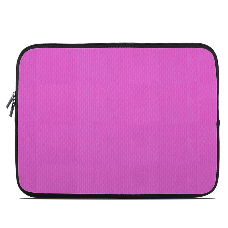 Solid State Vibrant Pink Laptop Sleeve