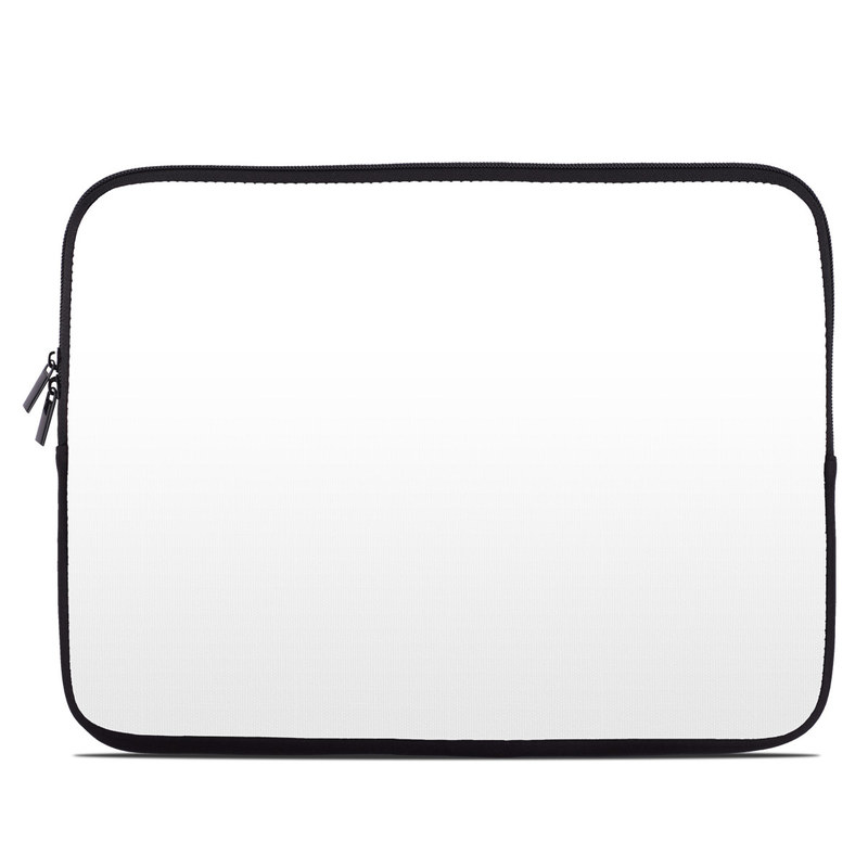 Laptop Sleeve design of White, Black, Line with white colors