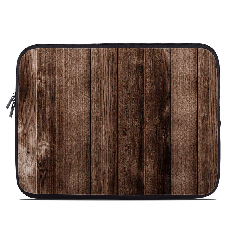 Stained Wood Laptop Sleeve