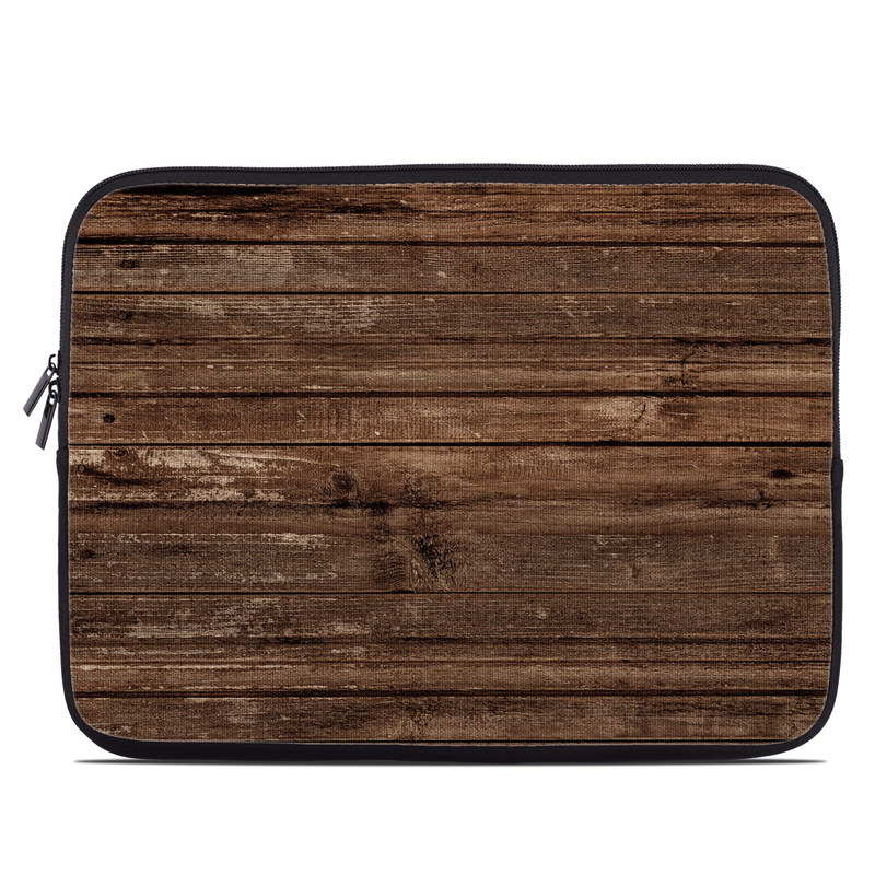 Stripped Wood Laptop Sleeve