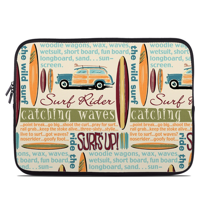 Surf Words Laptop Sleeve
