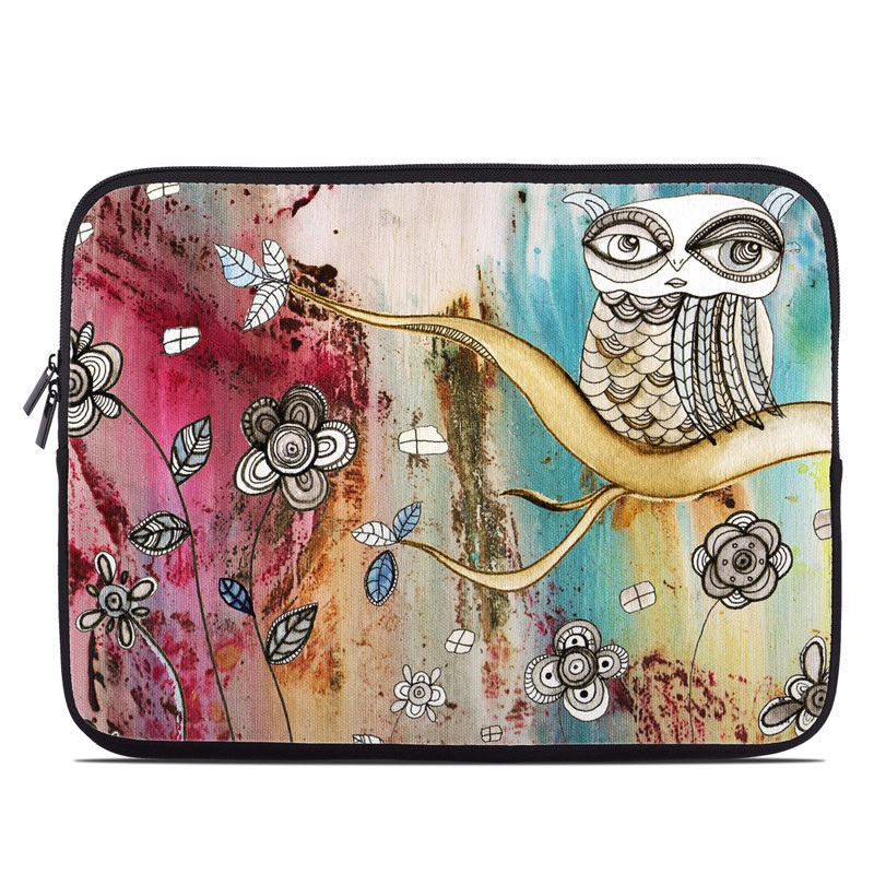 Surreal Owl Laptop Sleeve