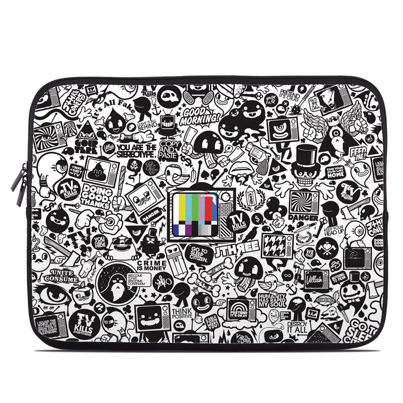 TV Kills Everything Laptop Sleeve