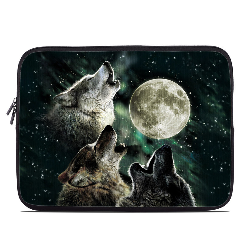 Three Wolf Moon Laptop Sleeve
