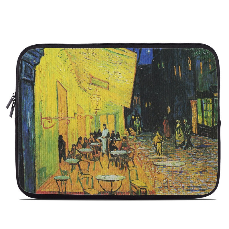 Cafe Terrace At Night Laptop Sleeve