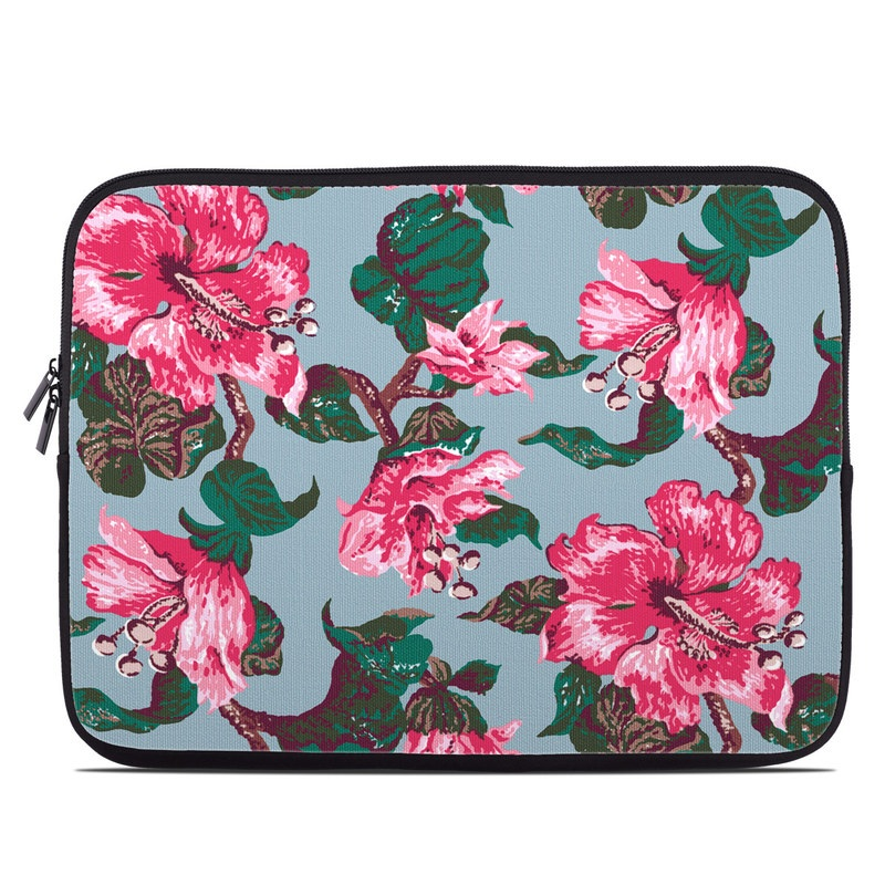 Vintage Hibiscus Laptop Sleeve