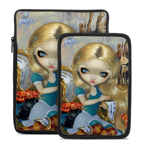 Alice in a Dali Dream Tablet Sleeve