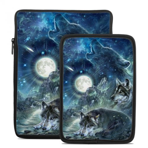 Bark At The Moon Tablet Sleeve