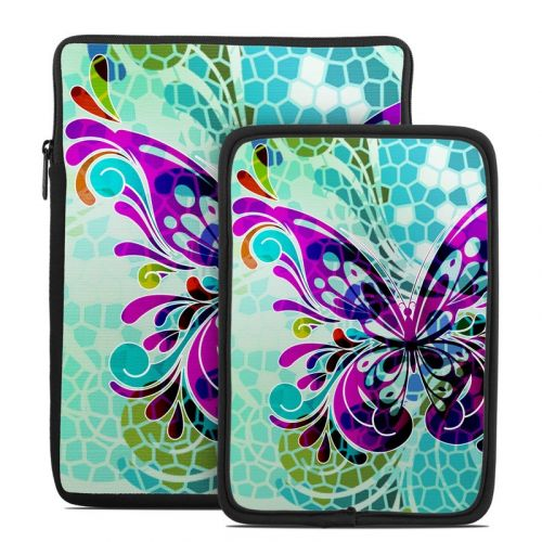Butterfly Glass Tablet Sleeve