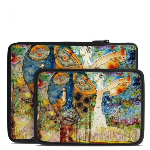 Blue Hello Tablet Sleeve