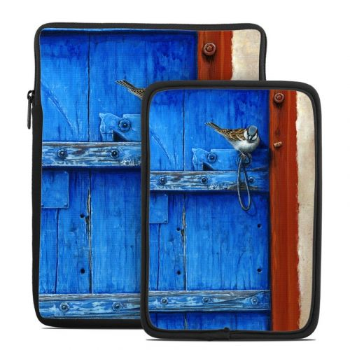 Blue Door Tablet Sleeve