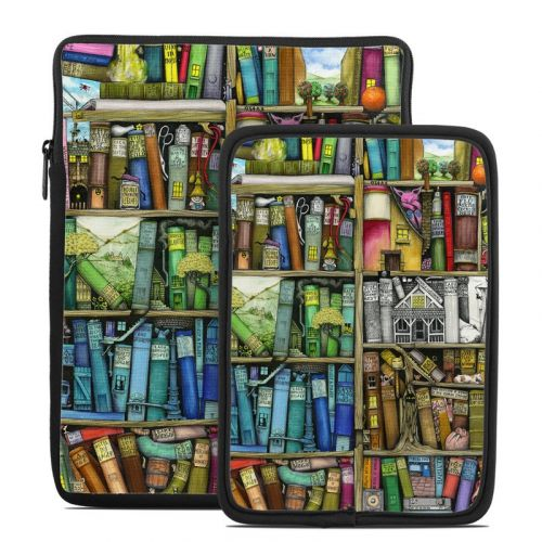 Bookshelf Tablet Sleeve