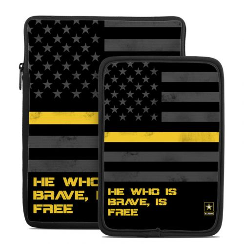 Brave is Free Tablet Sleeve