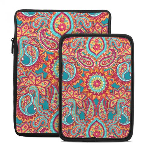 Carnival Paisley Tablet Sleeve