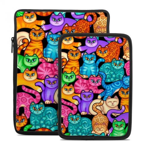 Colorful Kittens Tablet Sleeve