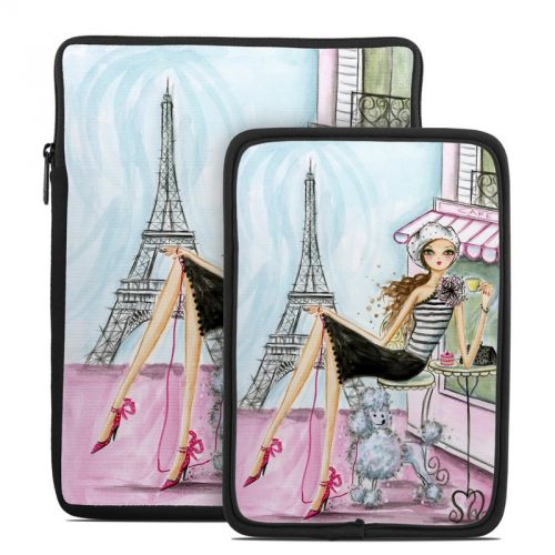 Cafe Paris Tablet Sleeve