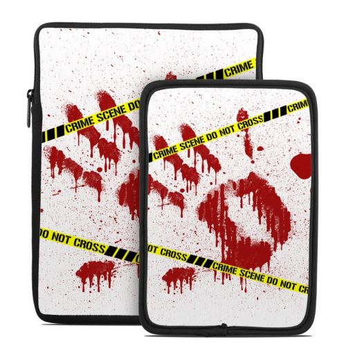 Crime Scene Revisited Tablet Sleeve