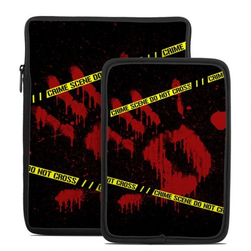 Crime Scene Tablet Sleeve