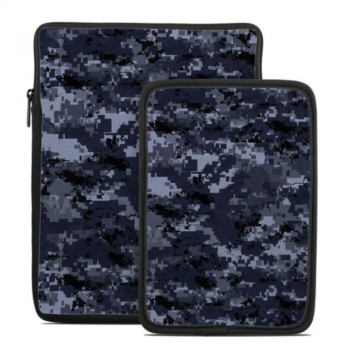 Digital Navy Camo Tablet Sleeve