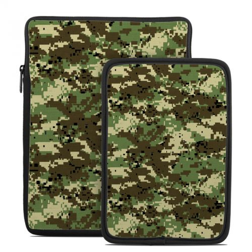 Digital Woodland Camo Tablet Sleeve