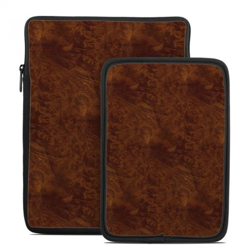 Dark Burlwood Tablet Sleeve