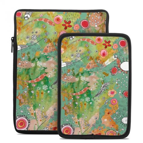 Feathers Flowers Showers Tablet Sleeve
