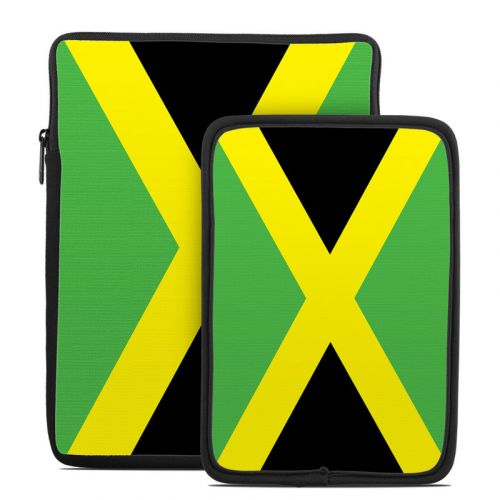 Jamaican Flag Tablet Sleeve