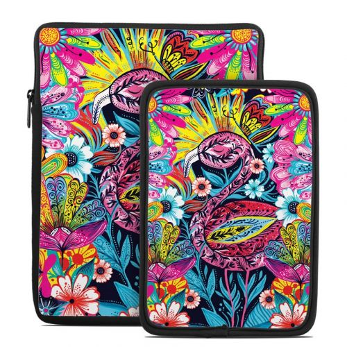 Flashy Flamingo Tablet Sleeve