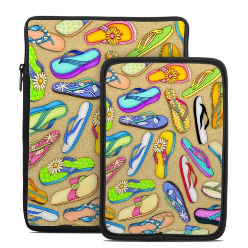 Flip Flops Tablet Sleeve