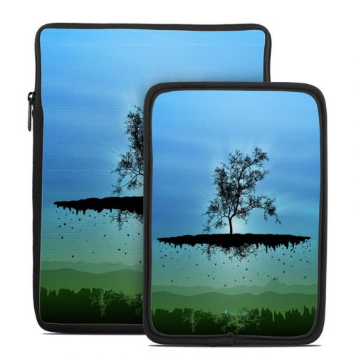 Flying Tree Blue Tablet Sleeve