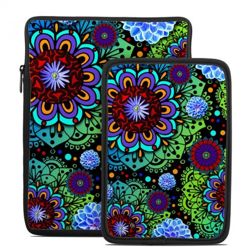 Funky Floratopia Tablet Sleeve