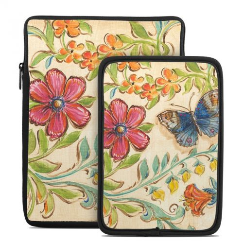 Garden Scroll Tablet Sleeve