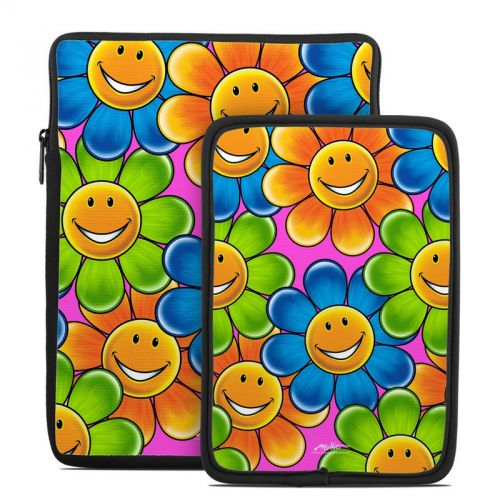 Happy Daisies Tablet Sleeve