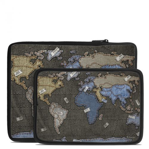 Jean Map Tablet Sleeve