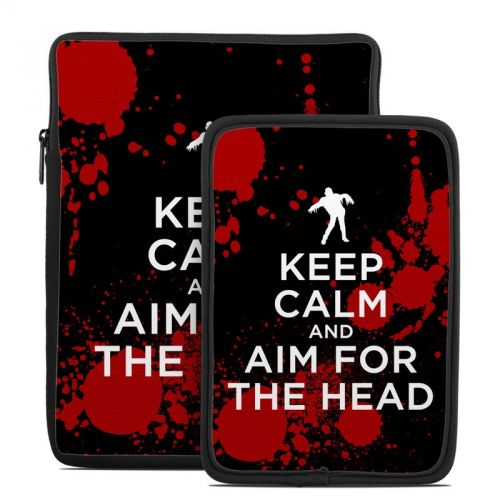 Keep Calm - Zombie Tablet Sleeve