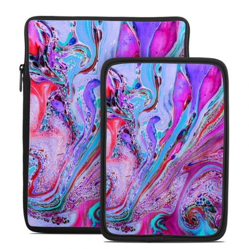 Marbled Lustre Tablet Sleeve