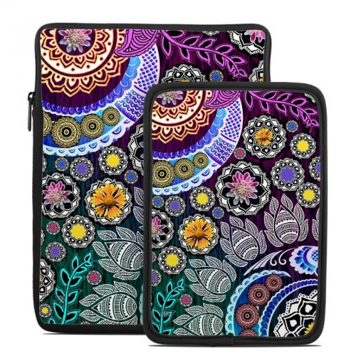 Mehndi Garden Tablet Sleeve