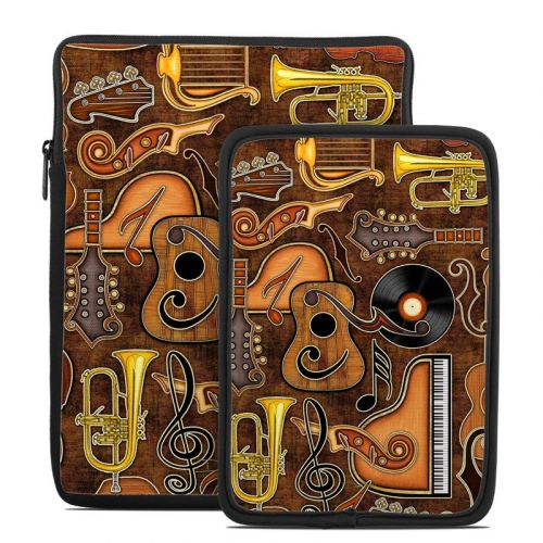Music Elements Tablet Sleeve