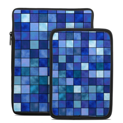 Blue Mosaic Tablet Sleeve