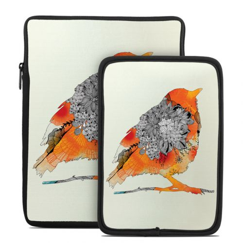 Orange Bird Tablet Sleeve